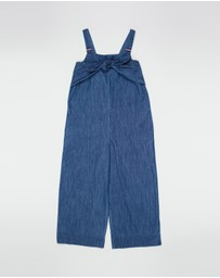 Tommy Hilfiger - Denim Twist Jumpsuit - Teens
