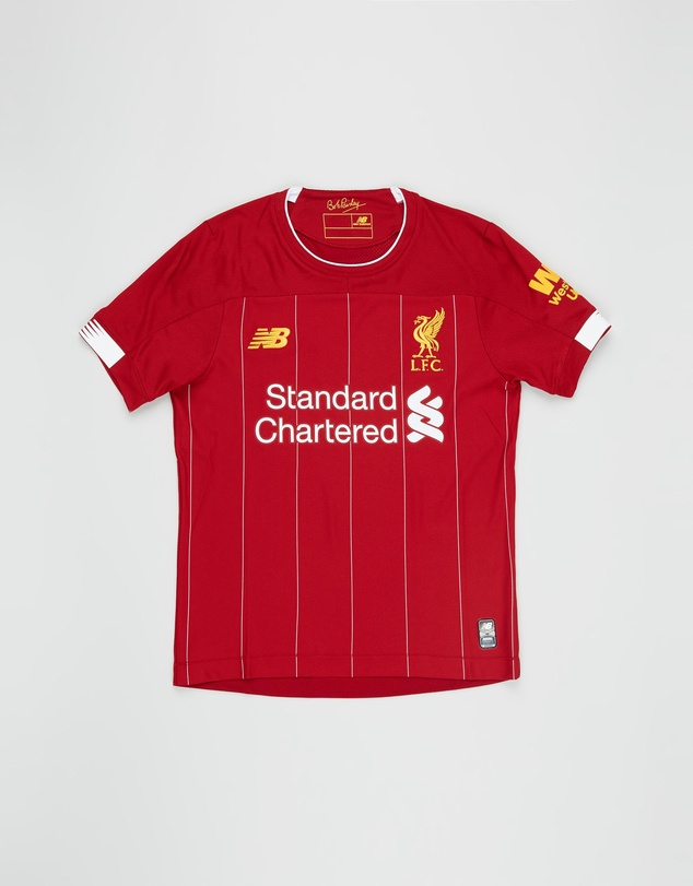New Balance - Liverpool FC Home Junior SS Jersey - Teens