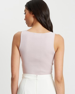 BWLDR In Theory Knit Crop - Cropped tops (Lilac)