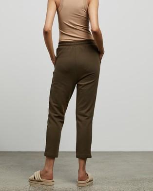 C&M CAMILLA AND MARC Logan 2.0 Track Pants - Sweatpants (Dark Khaki)