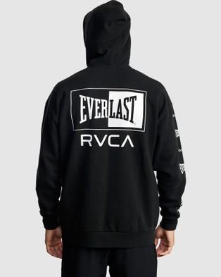 RVCA Everlast Sport Hoodie - Jumpers & Cardigans (BLACK)