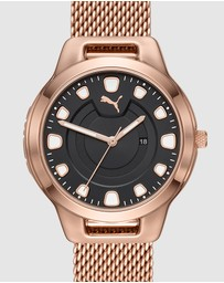 Puma - Reset V1 Rose Gold-Tone Analogue Watch