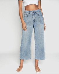 Cotton On - Wide Leg Cropped Jeans
