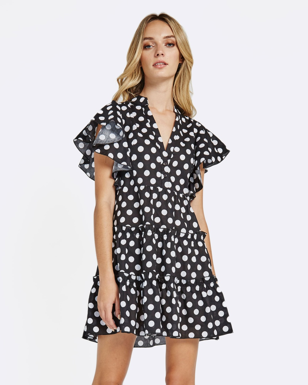 MVN Wanderlust Mini Dress Dresses & Onesies Black Wanderlust Mini Dress