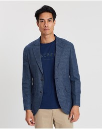 Hackett - Brushed Check Jacket