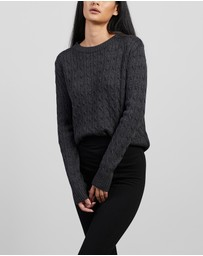 Mcintyre - Maria Merino Cable Knit