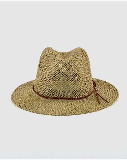 Ford Millinery Roots Hat Natural