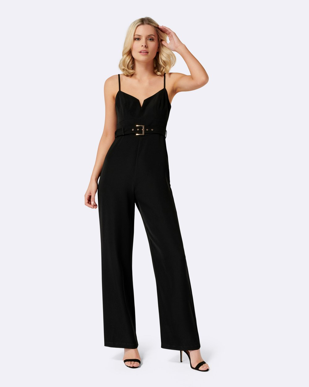 d87f8320a51b Sahara Belted Jumpsuit by Forever New Online