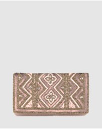 Betts - Jasmine Beaded Clutch Bag