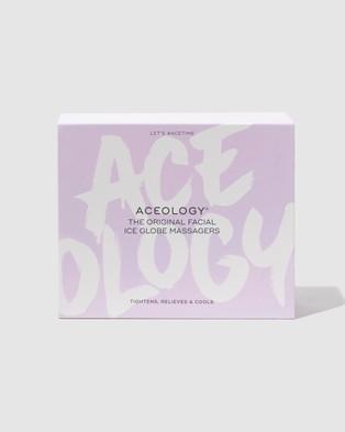 Aceology - Ice Globe Facial Massager Massage (Lilac)
