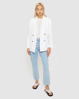 Jag Sasha Linen Jacket - Blazers (white)