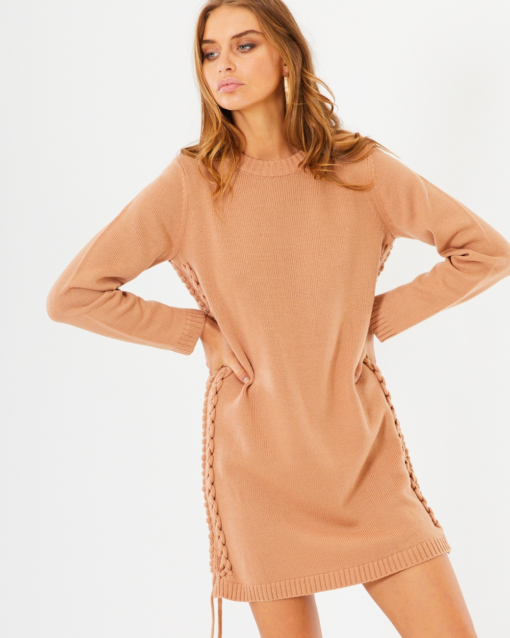 Photo of Tussah Tan Lula Knit Dress - beautiful dress from Tussah online