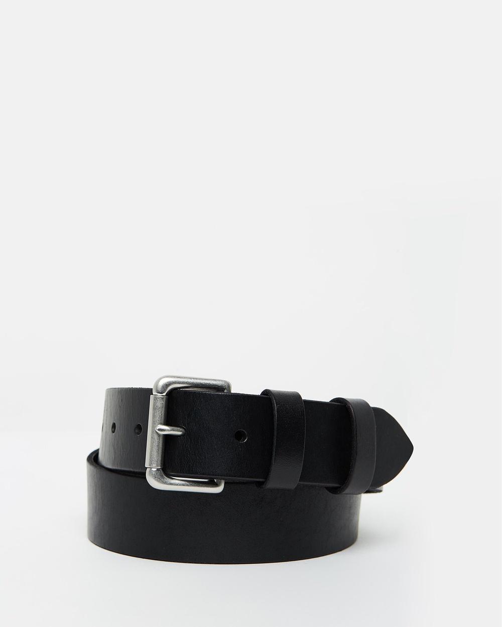 Polo Ralph Lauren Saddle Patch Belt Belts Black