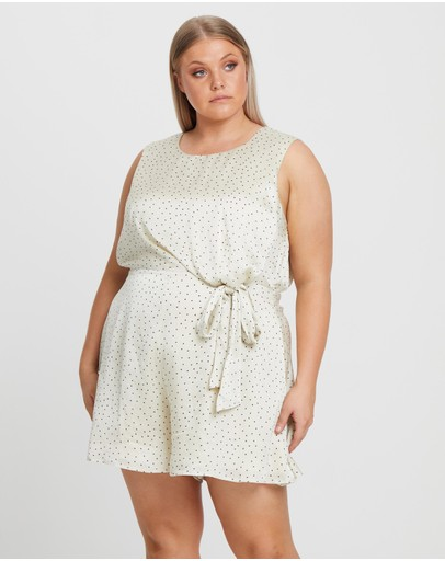 Willa - Malcom Tie Front Playsuit