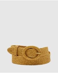 Oxford - Avril Raffia Waist Belt
