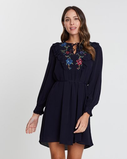 6bfa222f4 Roesia Texture Dress by French Connection Online | THE ICONIC | Australia