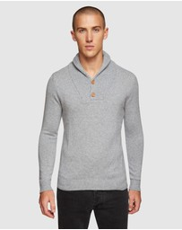 Oxford - Jimmy Shawl Neck Knit