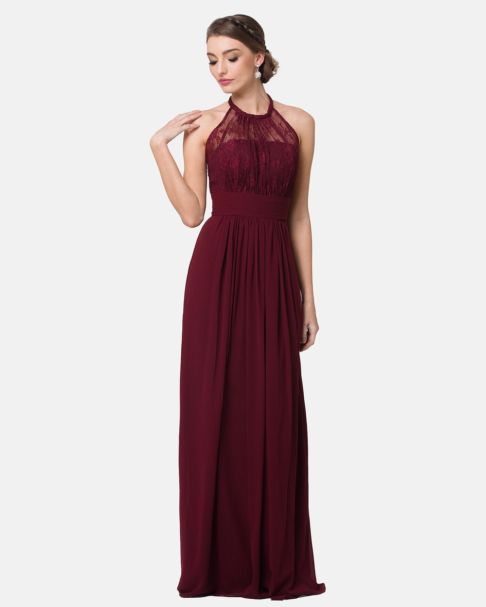 Tania Olsen Designs Harlow Dress Bridesmaid Dresses Merlot Harlow Dress