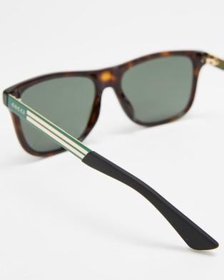 Gucci GG0687S003 - Sunglasses (Havana)