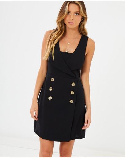 Calli Jacee Dress Black
