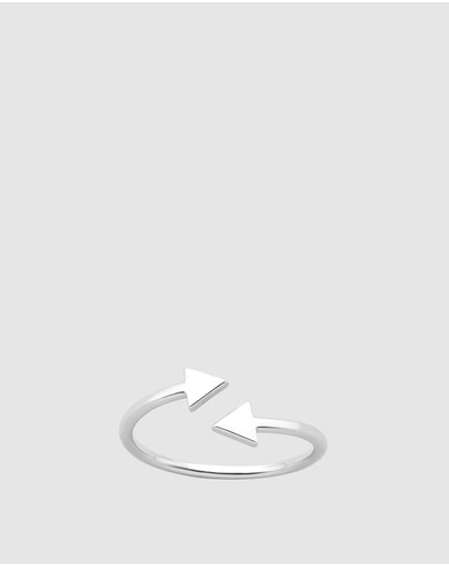 Karen Walker Celestial Arrows Ring Sterling Silver