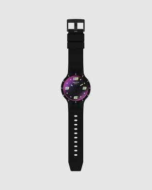 Swatch FUTURISTIC BLACK - Watches (Black)