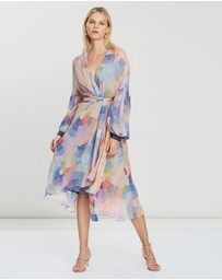 Ginger & Smart - Theory Wrap Dress