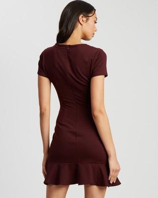 Reux Dani Mini Dress - Dresses (Plum)
