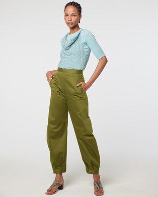 Arnsdorf Mira Trouser - Pants (Green)