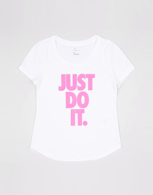Nike Kids - Dri-FIT Scoop Logo Tee - Teens