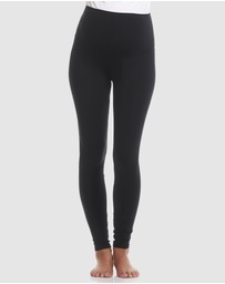 Soon Maternity - Sage Overbelly Active Leggings
