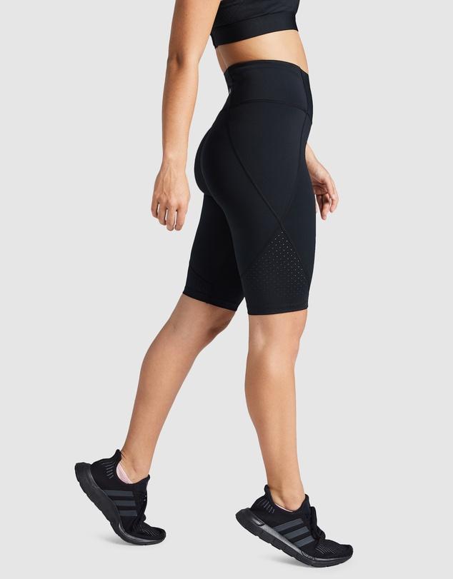Women Rewind Perforated Bike Shorts