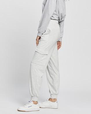 REVERSE Cargo Jogger Pants - Sweatpants (Grey)