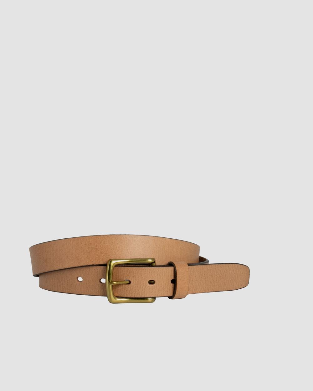 Loop Leather Co Bourke Belts Natural