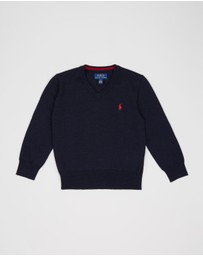 Polo Ralph Lauren - LS Merino Wool Sweater - Kids