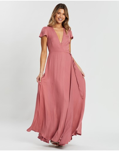 Atmos&Here - Jessie Maxi Wrap Dress