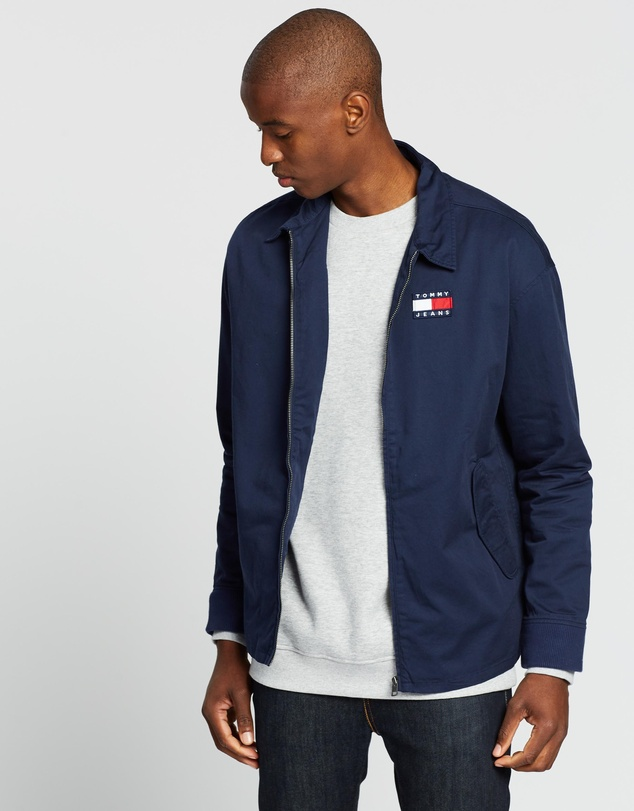 Tommy Jeans - Casual Cotton Jacket