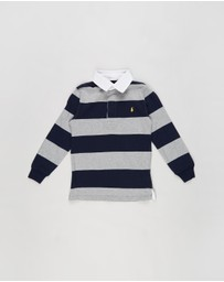 Polo Ralph Lauren - Rugby LS Knit Top - Kids (5-7 Years)