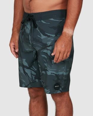 RVCA Va Trunks - Swimwear (BLACK CAMO)