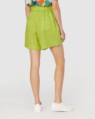 Gorman Sorbet Shorts - Chino Shorts (Green)