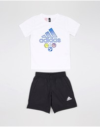 SS Climalite Tee and Shorts Set - Kids