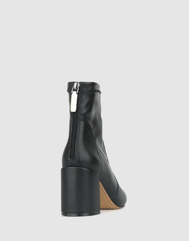 Women Gang Block Heel Ankle Boots