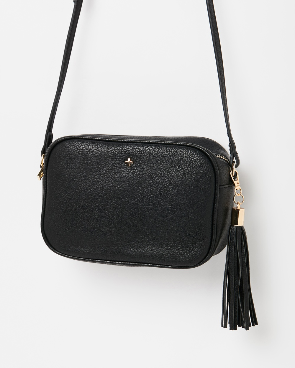 PETA AND JAIN Gracie Cross Body Bag Handbags Black Pebble