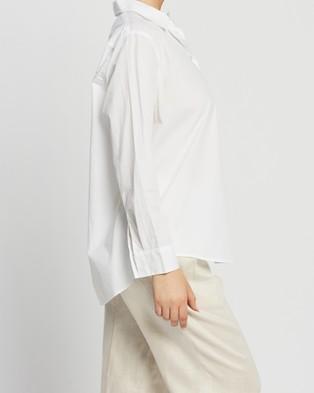 Assembly Label Pira Poplin Shirt - Tops (White)