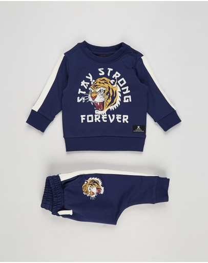 Rock Your Baby - Stay Strong Tracksuit Set - Babies