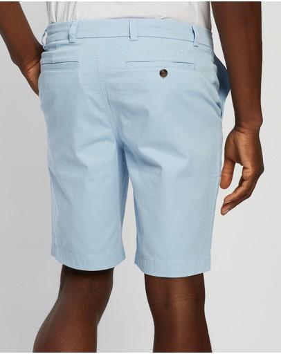 Brooks Brothers Chino Shorts Chambray Blue