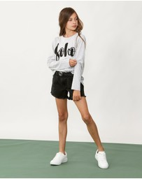 Decjuba Kids - Emma Denim Shorts - Teens