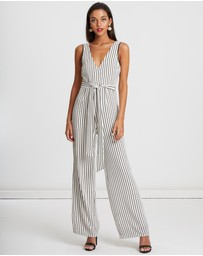 CHANCERY - Khloe Stripe Jumpsuit