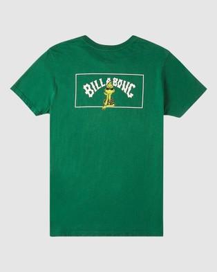Billabong - Dr. Seuss The Grinch Boys Mahalo Short Sleeve Tee T-Shirts (ALPINE)
