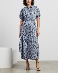 CAMILLA AND MARC - Anjelica Print Shirt Dress